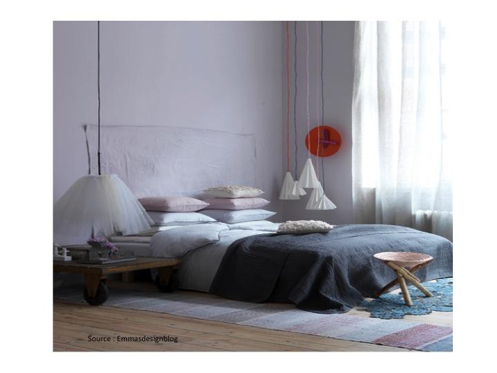 Chambre Taupe Et Blanc Cassé : Inspiration douceur : les tons pastel ...