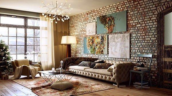 Decoration Mur En Briques Lovell Deco Home Staging Coaching Deco